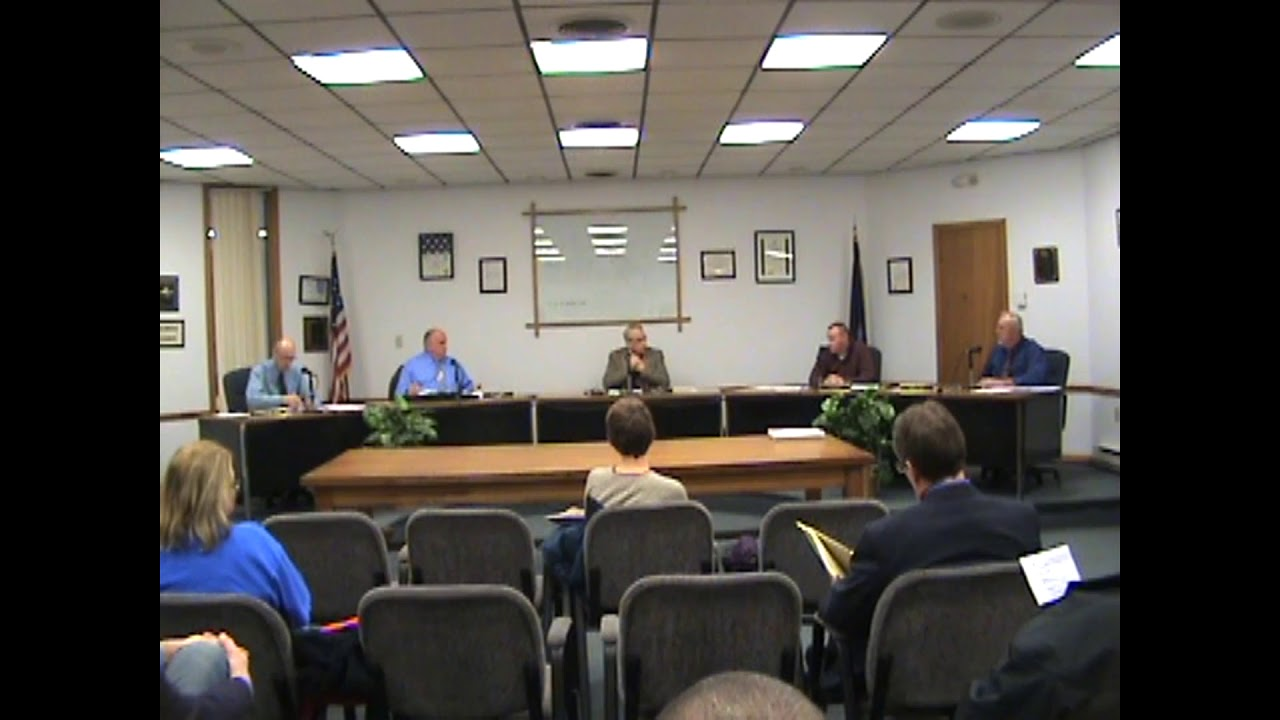 Rouses Point Village Board Meeting  1-7-19