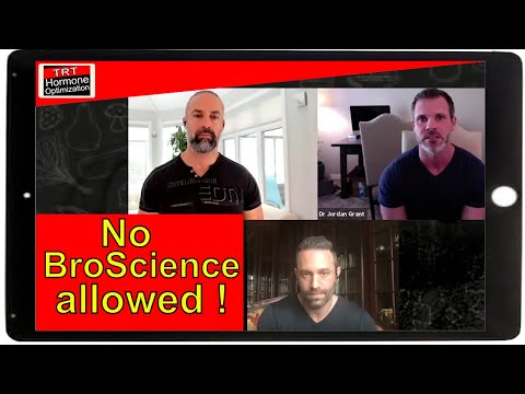 TRT Facts - Broscience Dispelled - With Dr Jordan Grant, Gil T And Danny Bossa