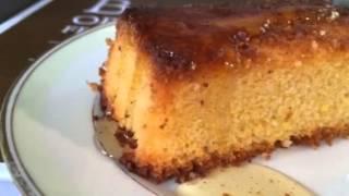 Lemon-polenta Cake