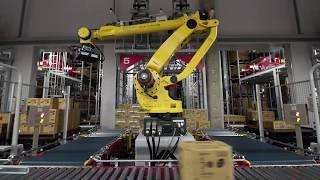 MUJINお客様事例《株式会社PALTAC デパレタイズロボット》