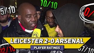 Leicester City 2-0 Arsenal Player Ratings | Look Away Now Unai Ft Troopz