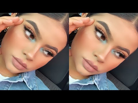 *KYLIE JENNER INSPIRED MAKEUP TUTORIAL* | Maquillaje Inspirado en KYLIE JENNER * thumbnail
