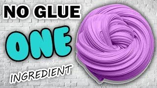 Real 1 ingredient Slime! Oฑly Toothpaste and Shampoo ,NO GLUE Slime Recipe,No Borax,No Corn Starch