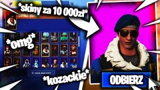 😃 OPENING KONT 😃😂 NAJRZADSZY SKIN W GRZE😂 ROYAL BOMBER?! 😂 - Fortnite Opening