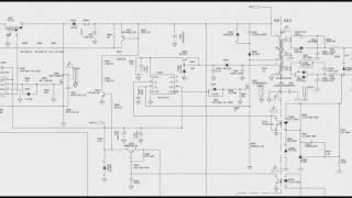 TV LCD 18   Função liga de uma fonte de TV LCD