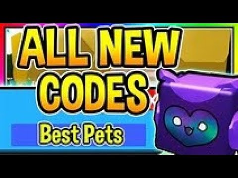 Pets World All New Codes.