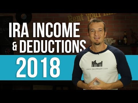 IRA Income and deduction limits 2018.