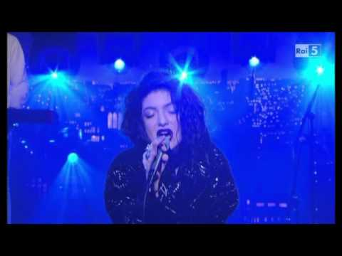 Lorde  Team  @ David Letterman Show 121113