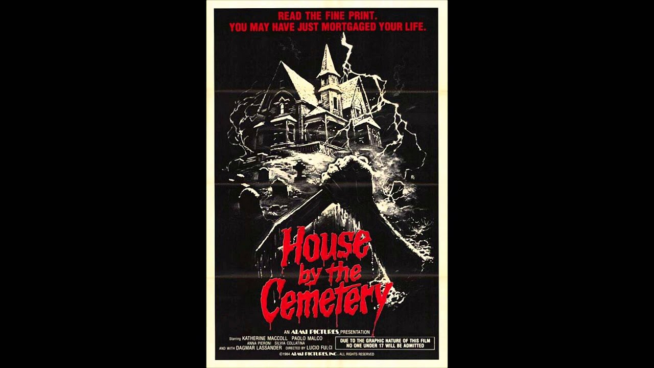 House By The Cemetery 1981 Theme Youtube