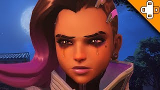 WORST Player Ever CRIES in Chat! Overwatch Funny & Epic Moments 696