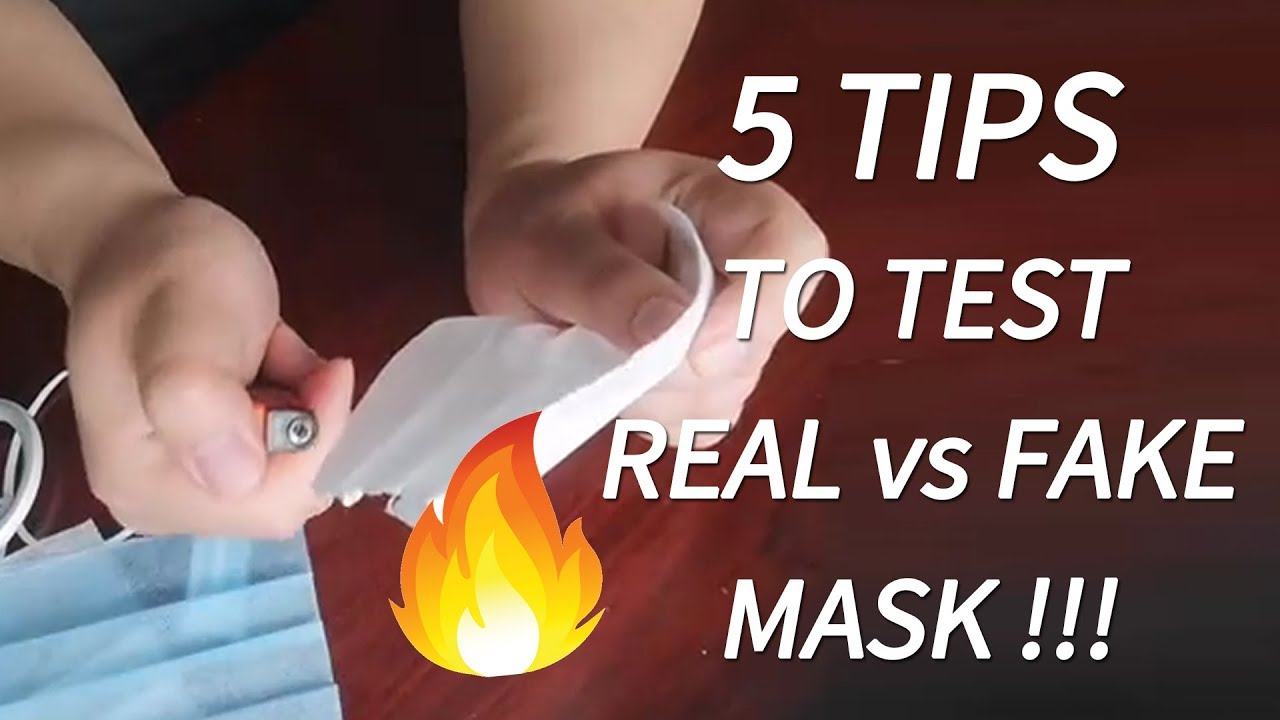 5 Tips to Test Real vs Fake Surgical/Medical Masks - Gearbest.com