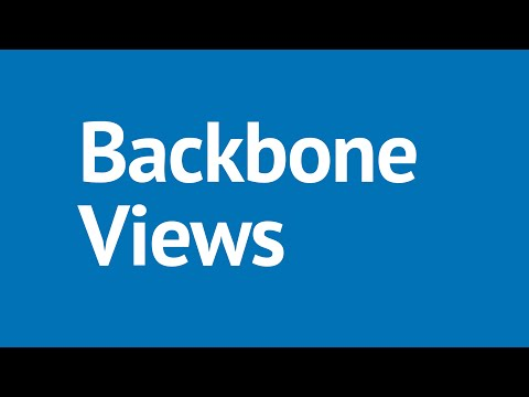 Backbone.js Tutorial Part 11 - Backbone.js Views: Handling the DOM Events