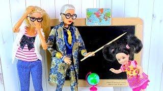 Раскрыла ТАЙНУ Директора и Получила НАКАЗАНИЕ! Мультик #Барби Куклы Сериал Про Школу IkuklaTV