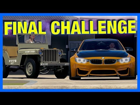 Forza Horizon 3 Online : THE FINAL CHALLENGE!!