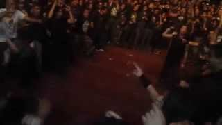 Hypocrisy - Wall Of Death, México 2014