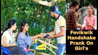 Fevikwik Handshake Prank On Girl's - Gone Wrong| Pranks In India| By TCI