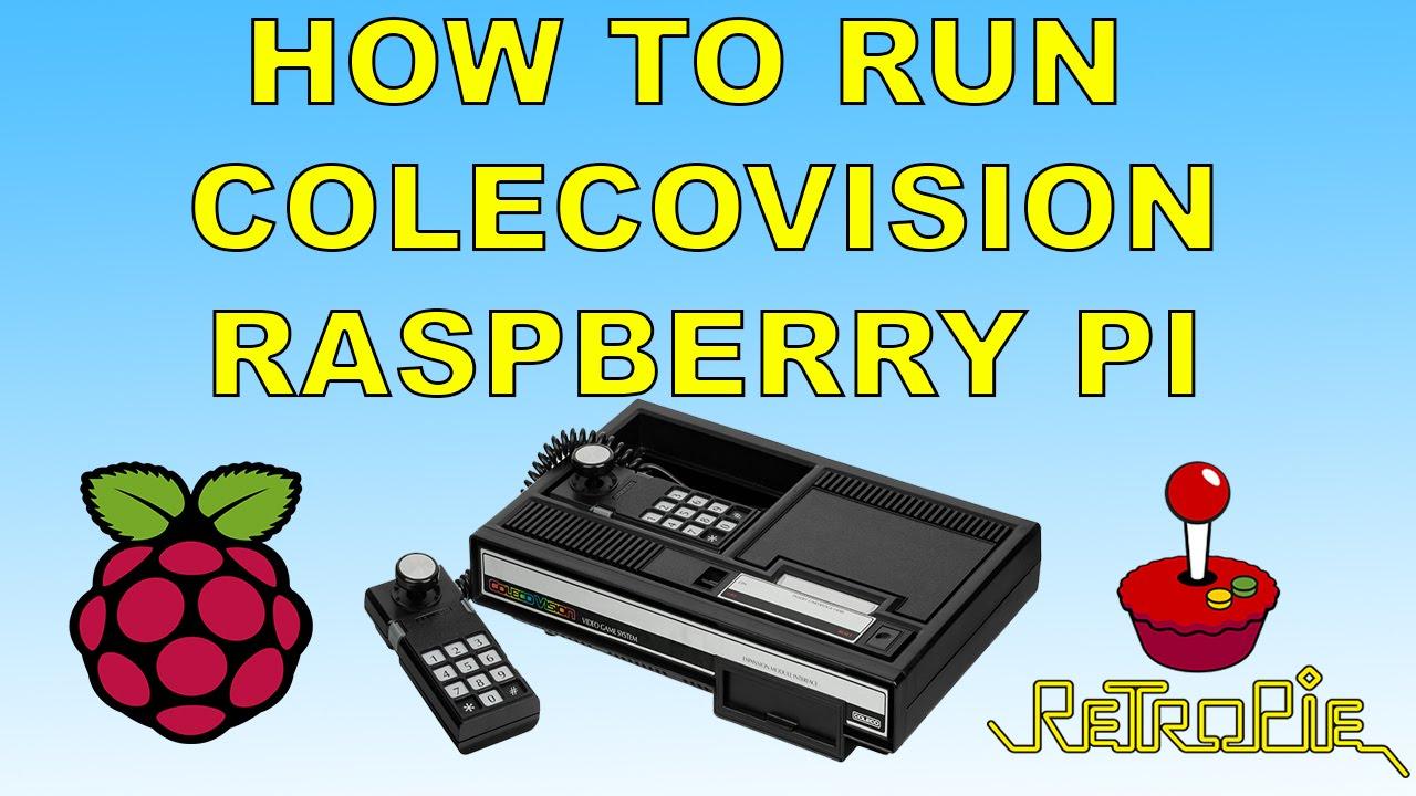 How To Set Up And Run ColecoVision Emulator Retropie Raspberry pi 1 2 3 or  Zero
