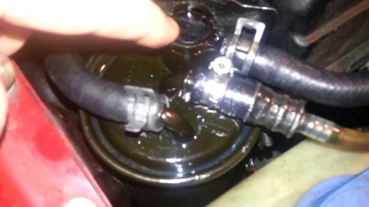 Air in the fuel line TDI VW 01 Golf