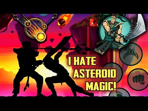 Shadow Fight 2 Special Edition. Asteroid Magic And Fatemaker. Fighting Ronin For His Dadao.