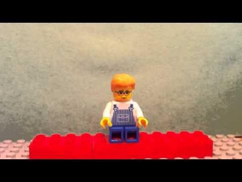Napoleon Dynamite Wolverines Scene In Lego Youtube