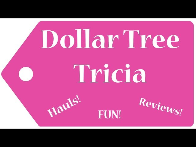Dollar Tree Haul!  January 12, 2020