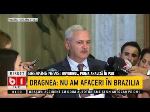 Liviu Dragnea: Nu știu ce are Soros cu mine, dar ceva e!
