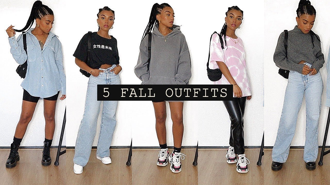 [VIDEO] – 5 fall outfits (for school)