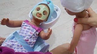 Oyuncak Bebekler Spa Merkezinde! En Uygun Kombin Challenge!! Bidünya Oyuncak