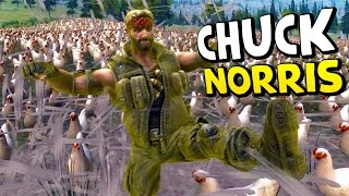 Chuck Norris VS 50,000 Chickens ❱ Ultimate Epic Battle Simulator