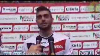 10-11-2013: Giulio Sabbi nel post Exprivia Molfetta - Bre Lannutti Cuneo 3-0