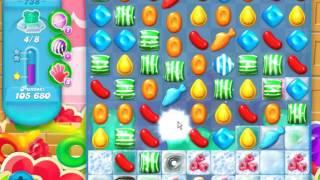 Candy Crush Soda Saga LEVEL 738 ★★STARS( No booster )