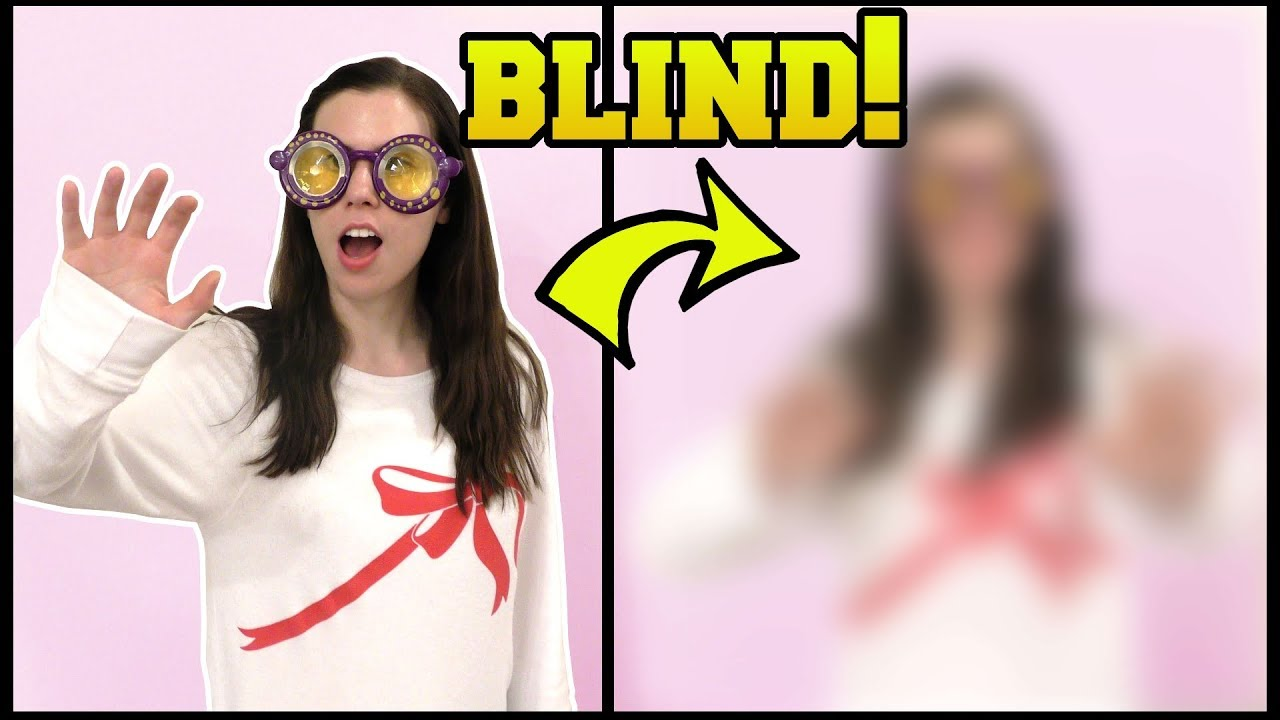 642bd4a284 THESE GLASSES MAKE YOU BLIND!!! - YouTube