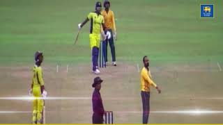Thisara Perera hits 6 sixes in an over 💥