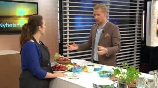 Så gör du den snyggaste maten - Nyhetsmorgon (TV4)