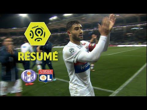 Toulouse FC - Olympique Lyonnais (1-2)  - Résumé - (TFC - OL) / 2017-18