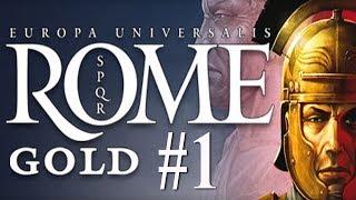 Europa Universalis:  Rome - Roman Campaign #1
