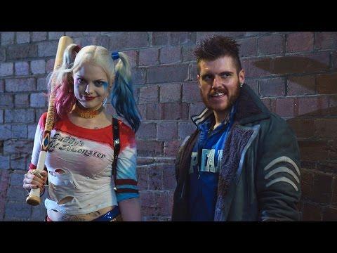 Capt. Boomerang & Harley Quinn Cosplay Shoot- Behind the Scenes!