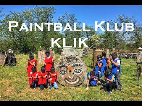 Dječiji Paintball Klub KLIK - Podgorica, Crna Gora