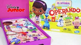 Jogo Operando Doutora Brinquedos Disney Junior Hasbro