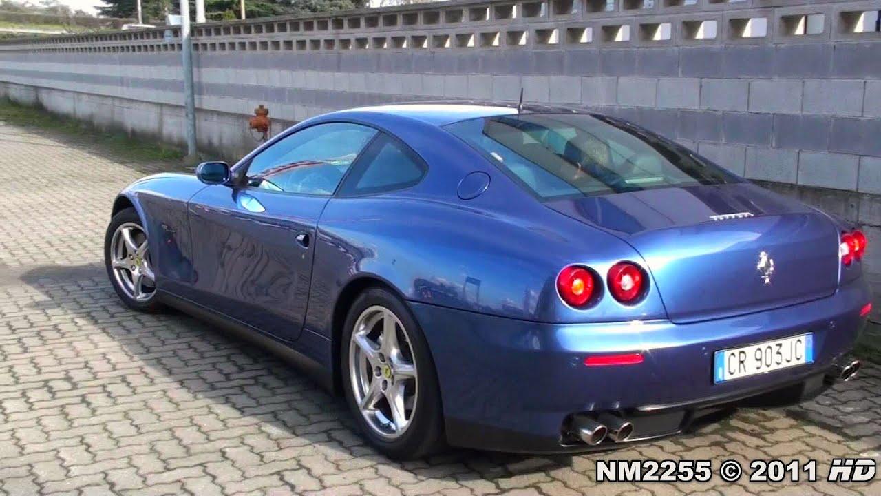 Ferrari 612 Scaglietti Exhaust Revving And Acceleration Youtube