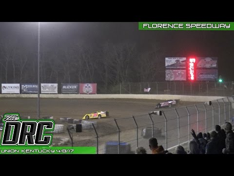 NBTF | Florence Speedway | 4.8.17 | Late Models | Feature Finish