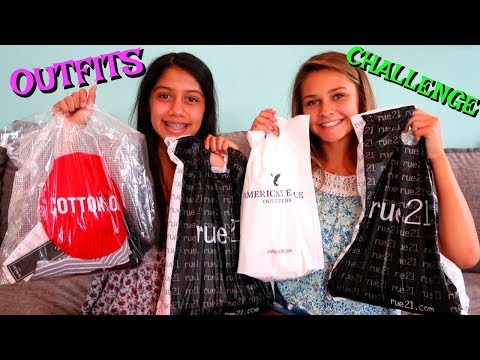 BEST FRIEND BUYS MY OUTFIT CHALLENGE! TRY ON HAUL!