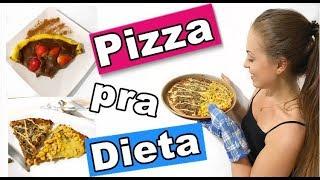 NOITE DA PIZZA FIT - DOIS TIPO DE MASSA PARA COMER SEM CULPA