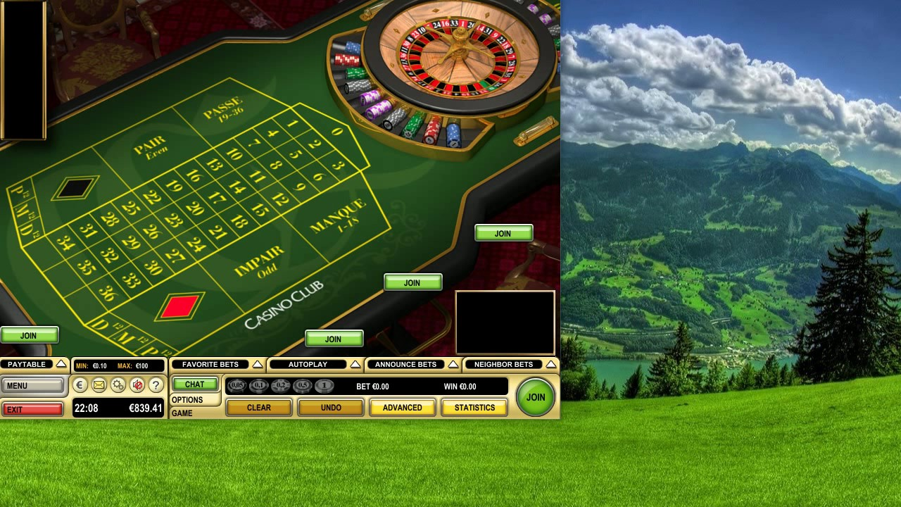 Roulette Live System