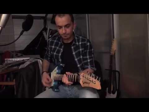 Line6 Helix + Variax JTV69 Funk studio session