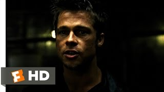 Fight Club (2/5) Movie CLIP - The First Rule of Fight Club (1999) HD