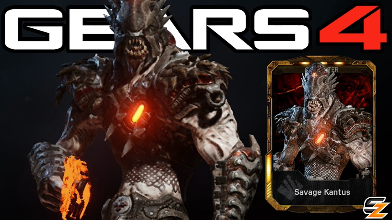 Gears Of War 4 Quot Savage Kantus Quot Character Multiplayer