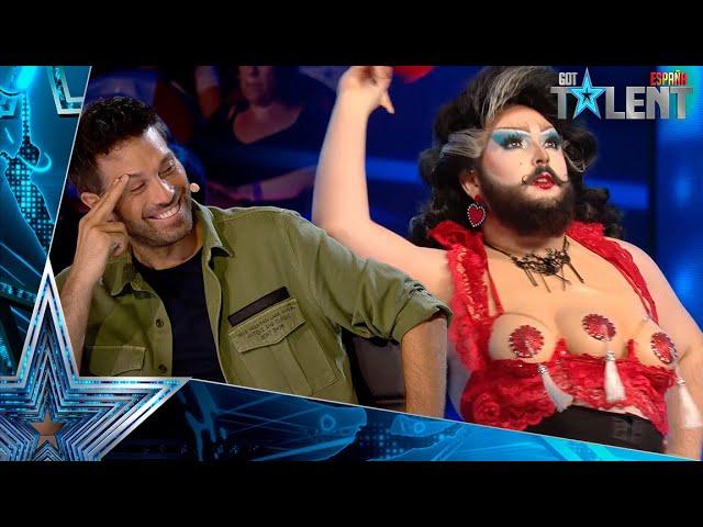 Esta concursante IMPACTA A TODOS con su anatomía   Audiciones 6   Got Talent España 2021