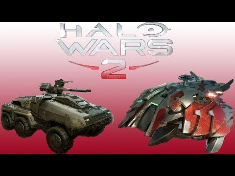 Mastodons vs Invader Wraiths | Halo Wars 2 Epic Unit Battles #61