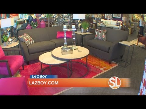La-Z-Boy Furniture Galleries has tips for decorating small spaces